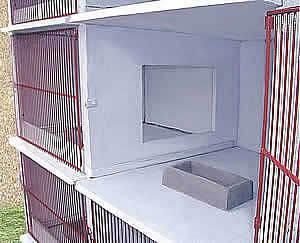Option plaque paroi communicante clapier la lapini re - Clapier lapin beton ...