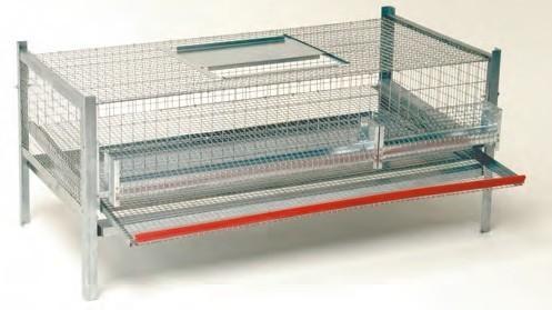 cage m tallique pour cailles pondeuses. Black Bedroom Furniture Sets. Home Design Ideas
