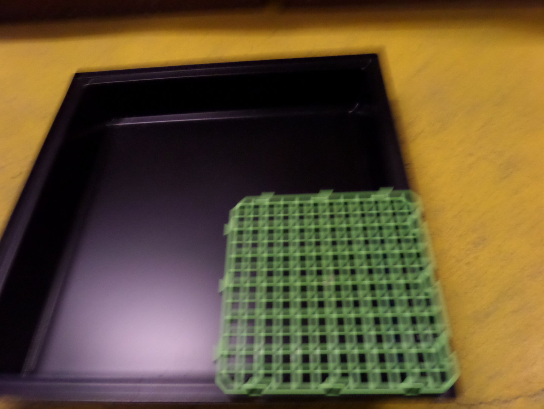 Conception innovante 6bcae ce441 bac plastique lapin 80 cm x 80 cm - la lapinière -
